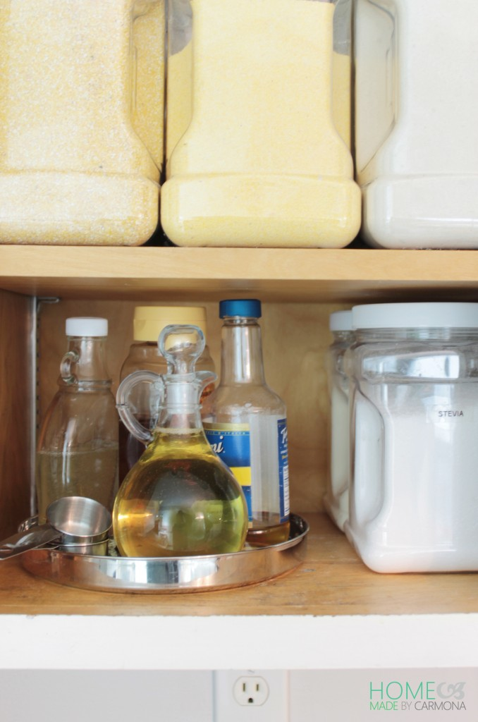 Bakers Cabinet - syrup holder