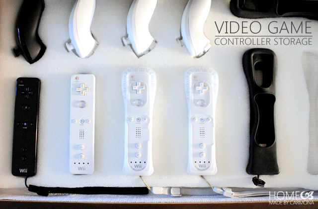 Video Game Controller Storage