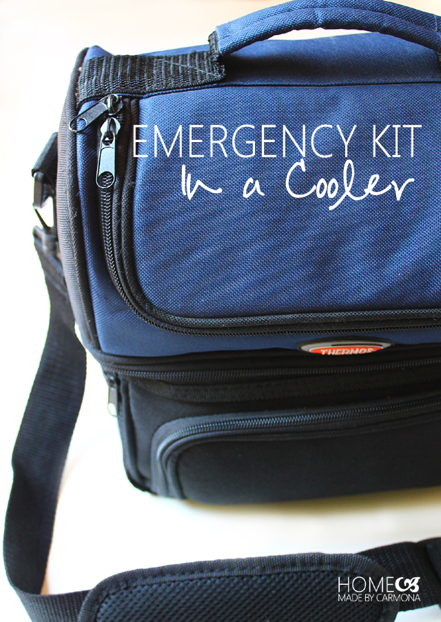 Emergency Kit In A Cooler