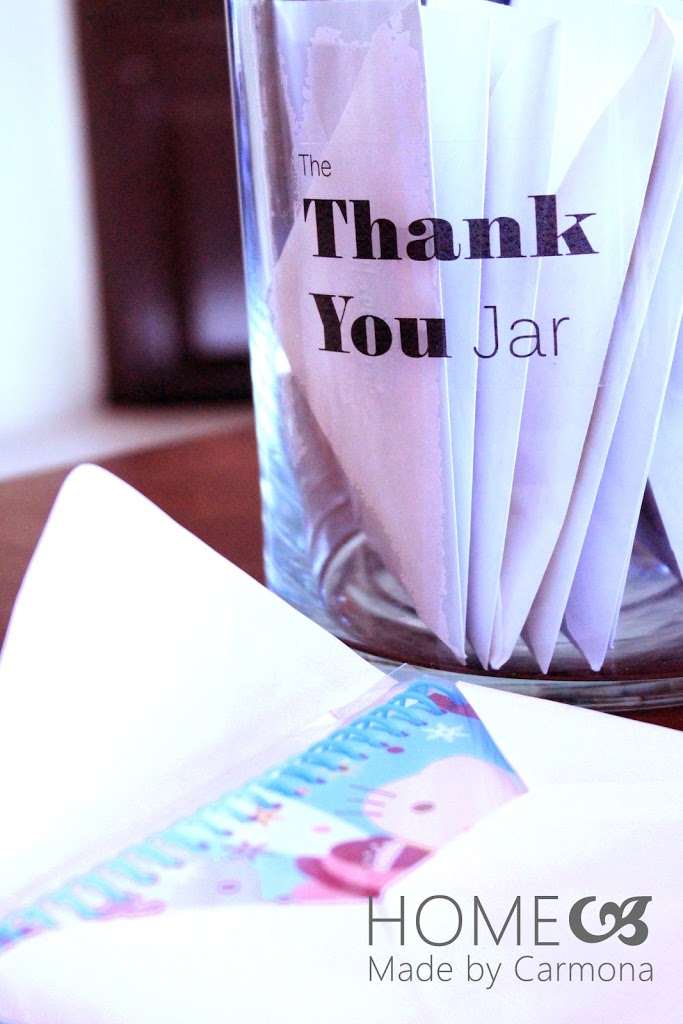 The Thank You Jar Home Made By Carmona