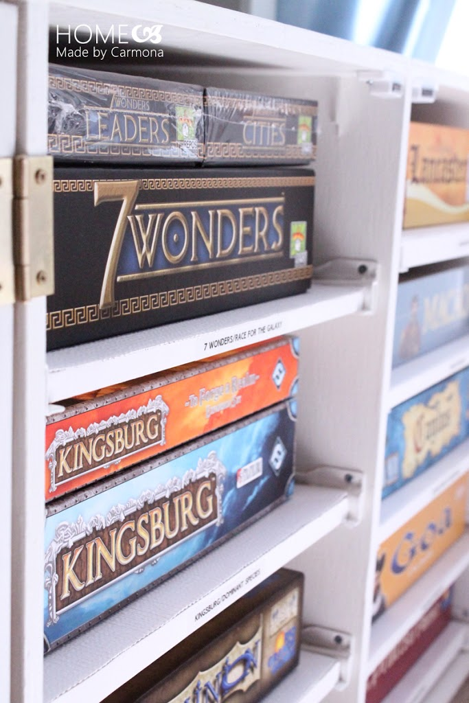 Diy Board Game Storage Unit Home Made By Carmona