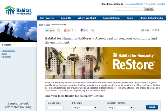 Habitat for Humanity Restore - featured image