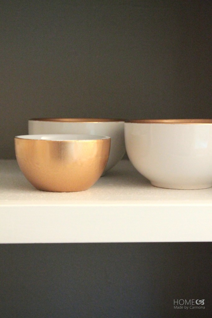 Gold sprayed bowls3
