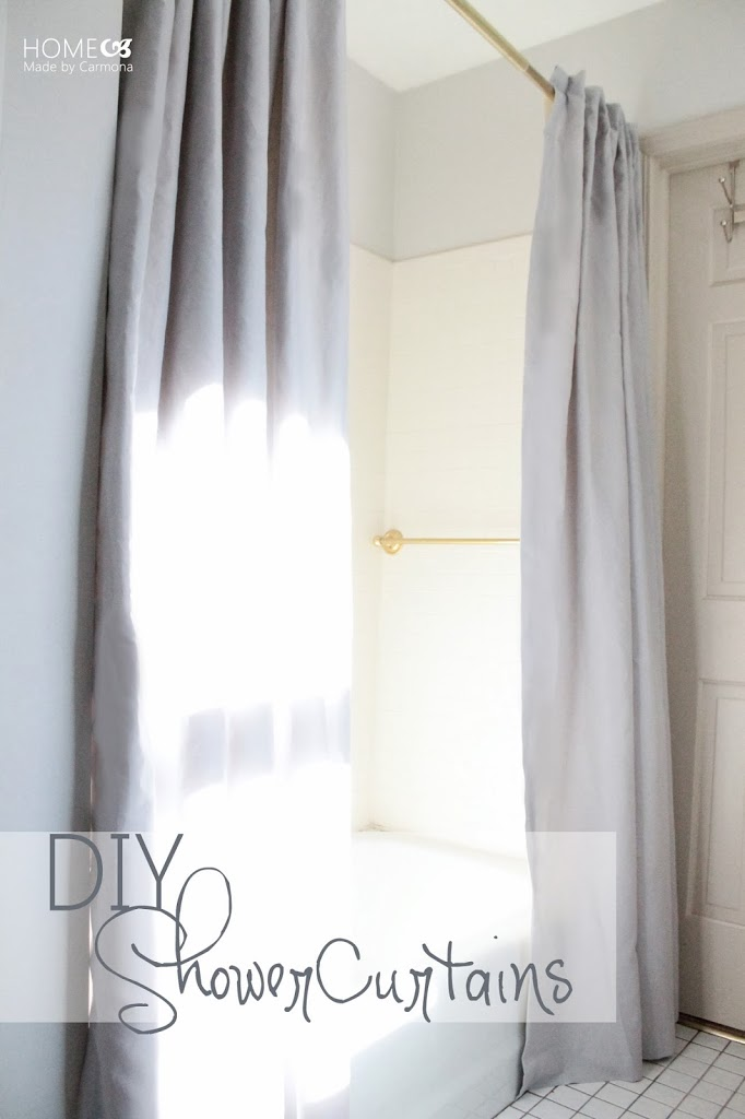 Shower Curtains That Open In The Middle.Take It From The Pros View Along The Way Diy Curtains