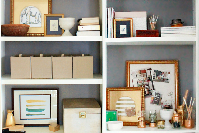 Bookcase styling - featured image