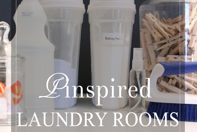 Pinspired laundry room -featured image