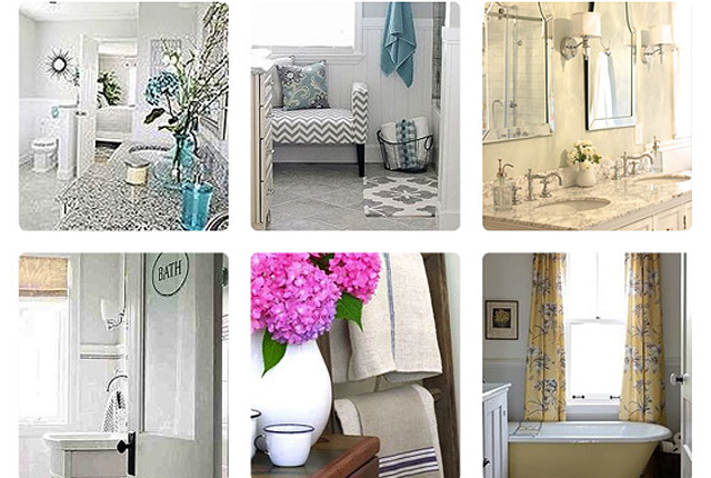 Hometalk bathroom roundup - featured image