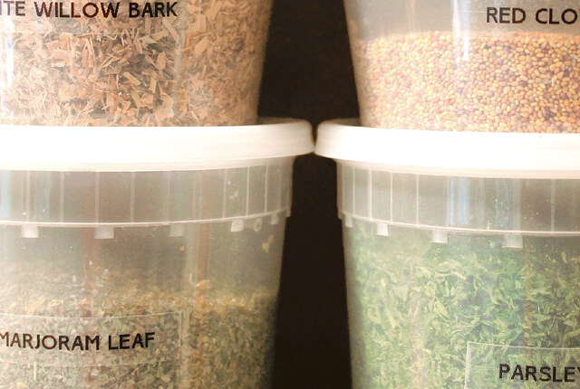 Herb and seed storage - featured image