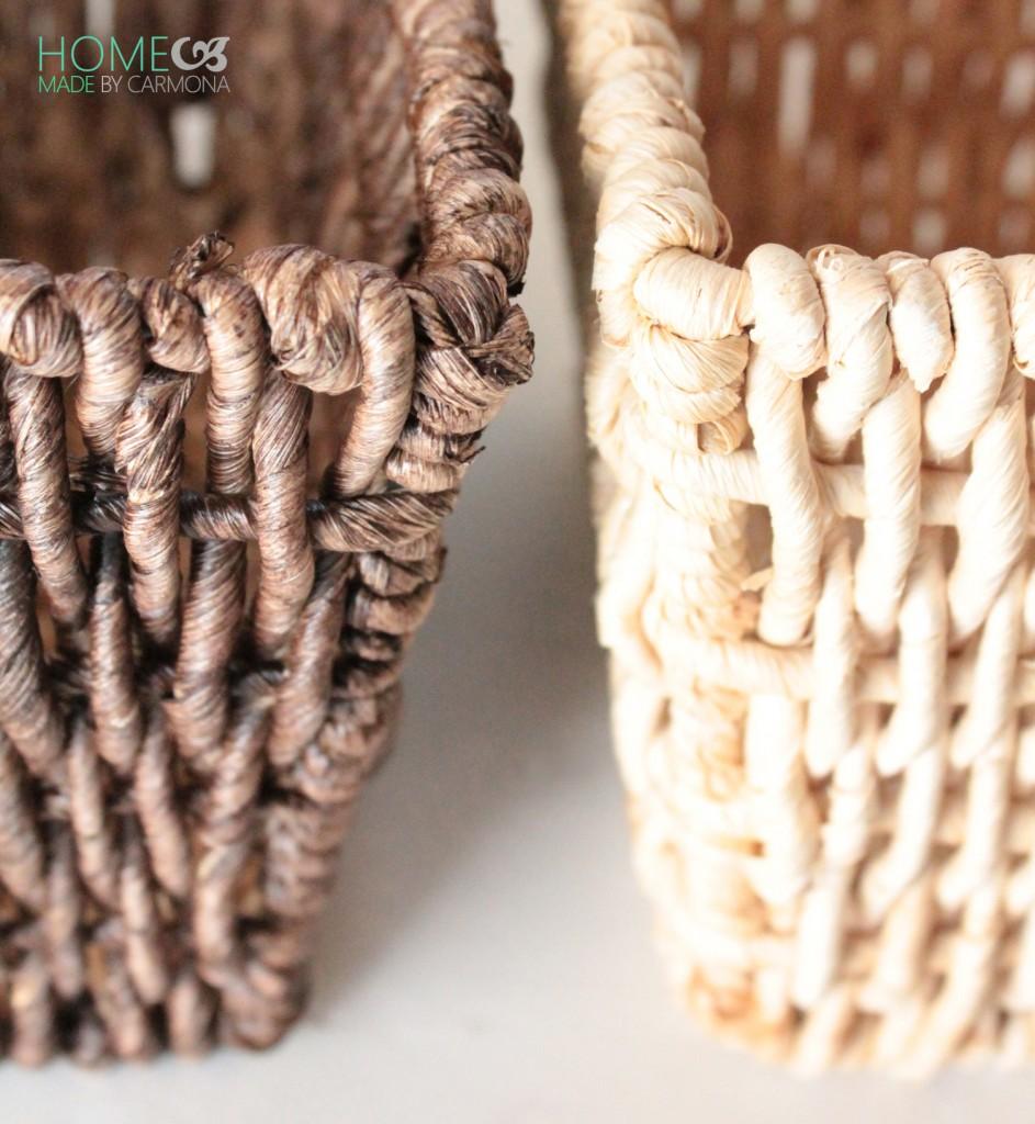 Basket Makeover