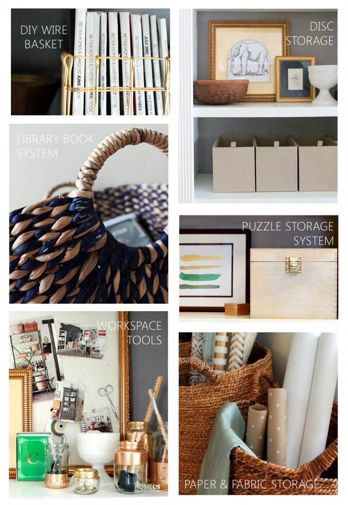 Living Room Organizing Projects