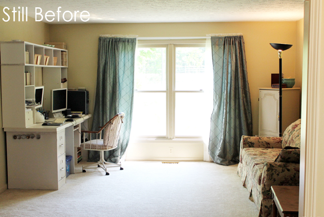 Sitting Room Before - featured image