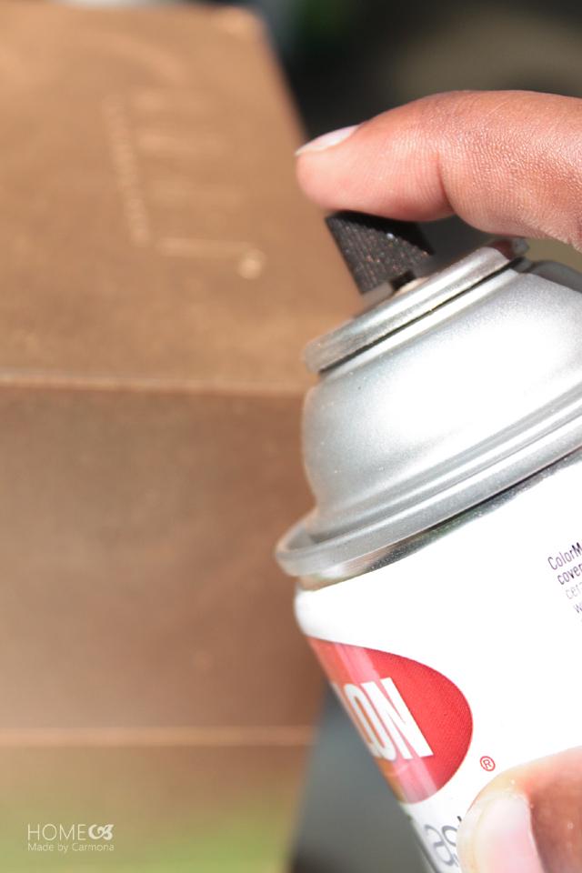 Paper file - spray paint