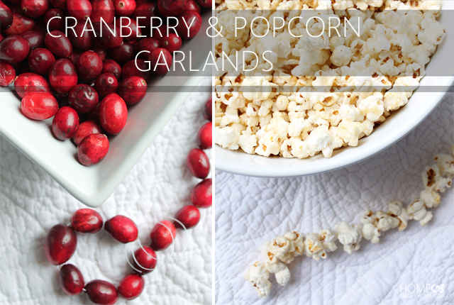 Cranberry and popcorn garlands-featured image