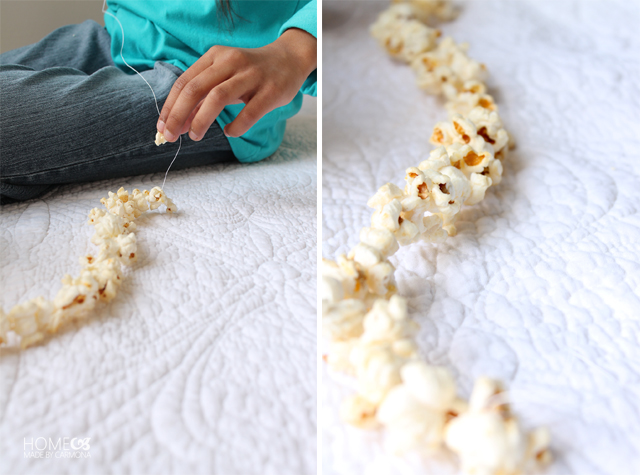 Popcorn_chain_making