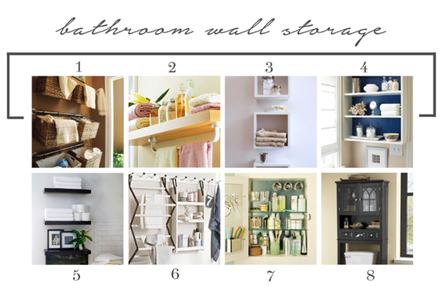 Bathroom wall storage -featured image