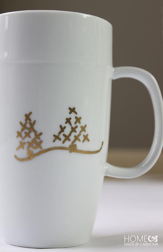 Customized Christmas mug