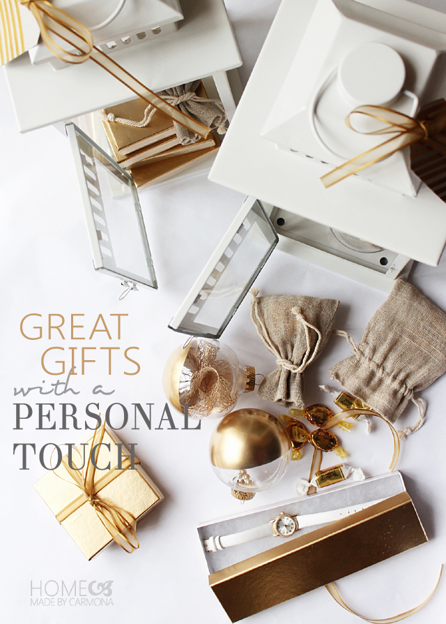 Great gifts with a personal touch