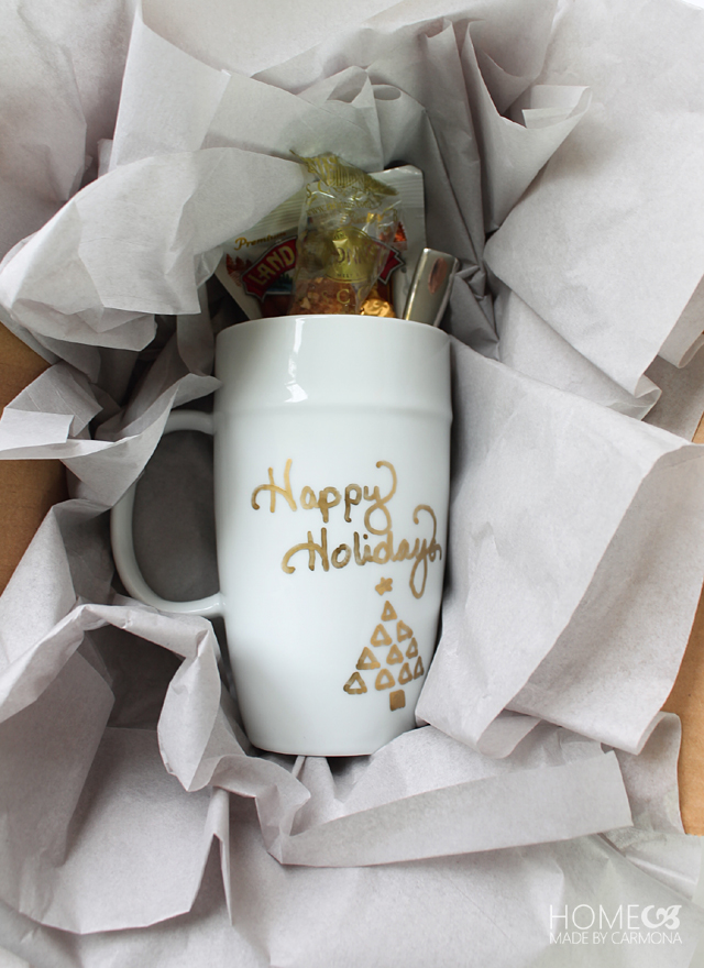 Sharpie mug as a personal gift