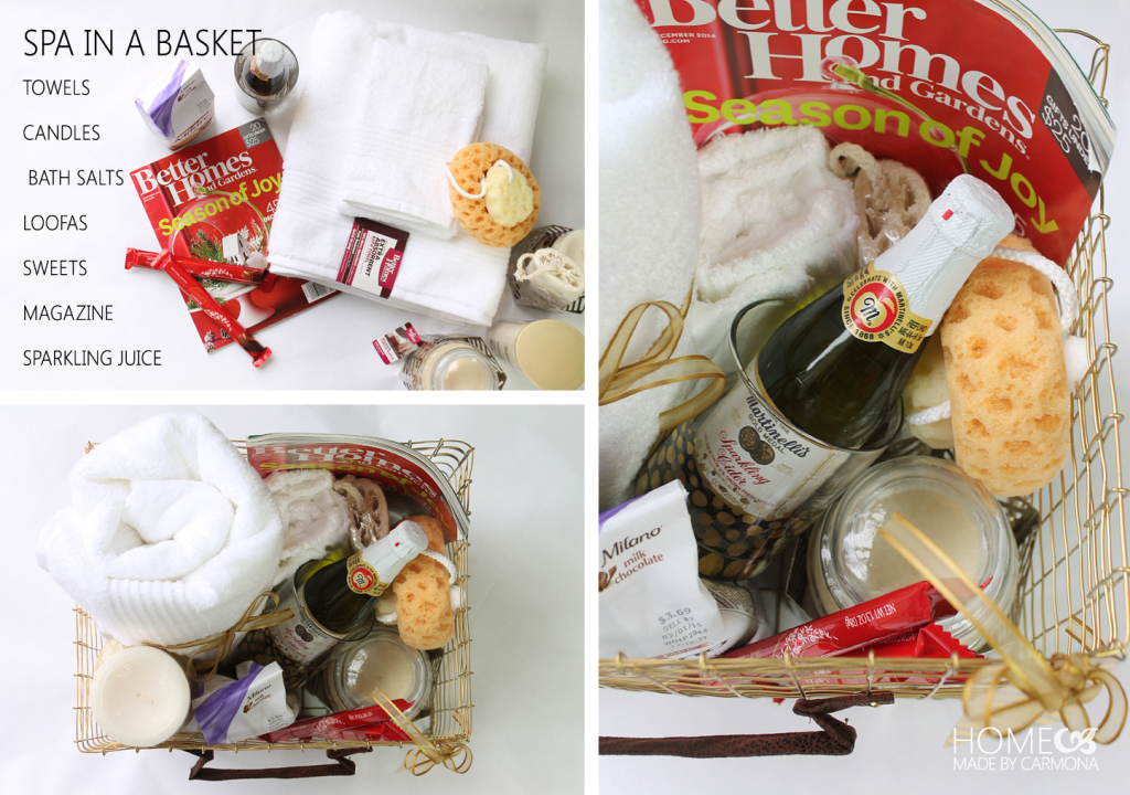 Spa in a basket gift