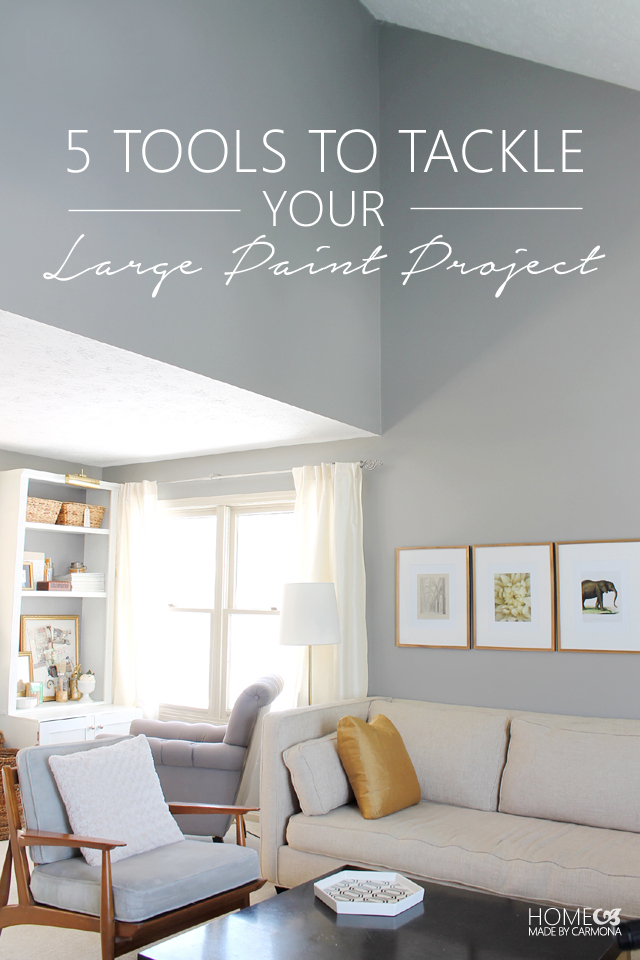 5 Tools To Tackle Your Large Paint Project