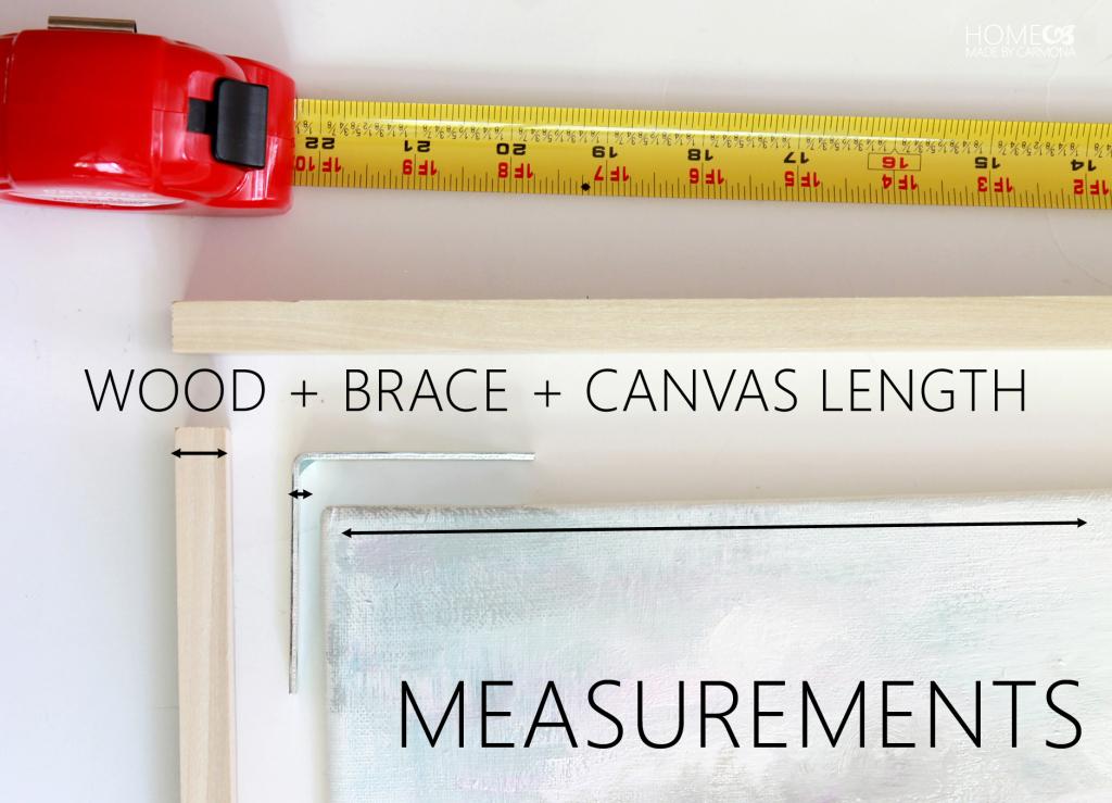 Floating Canvas - Measurements