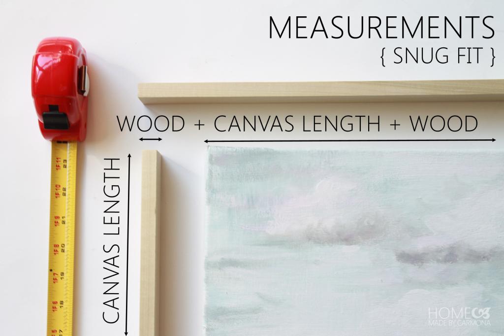 Floating Frame -measurements 2