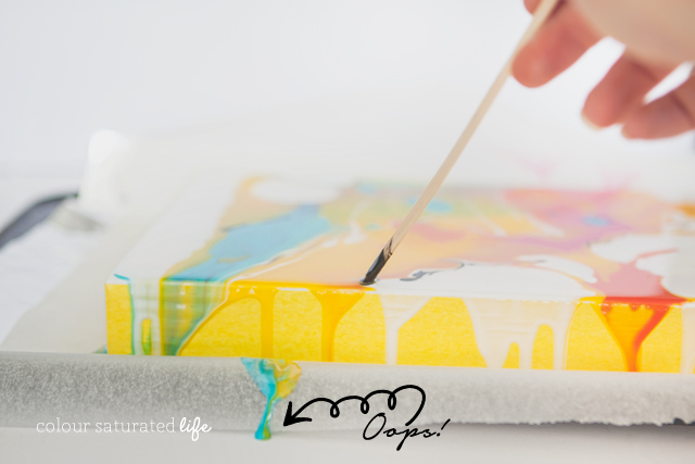 Marble Art  by Colour Saturated Life | Home Made by Carmona