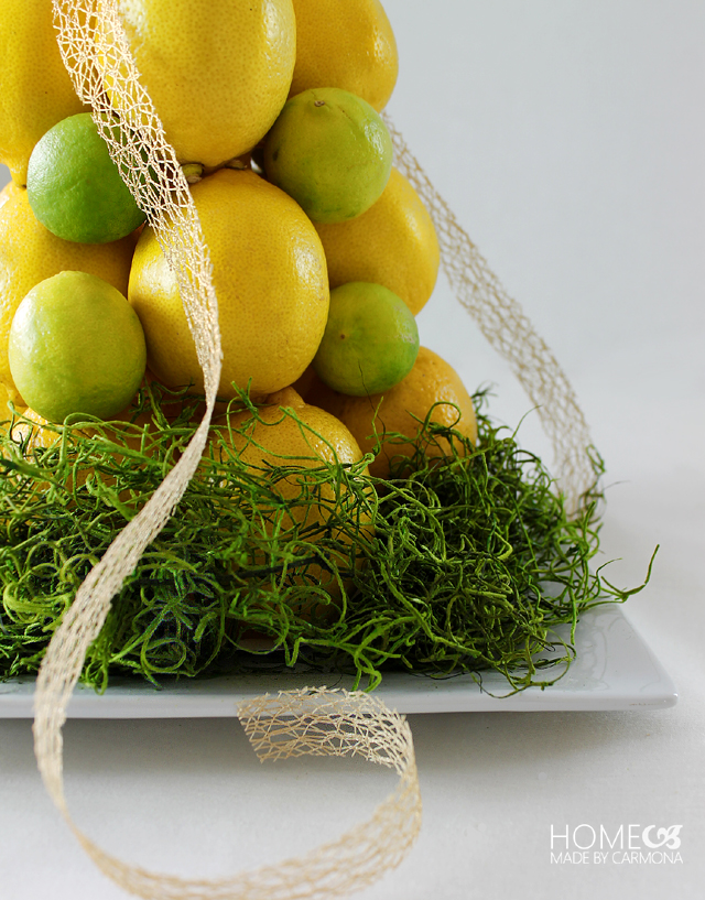 Citrus Topiary - Spring centerpiece