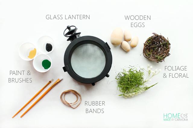 Easter Egg lantern - materials
