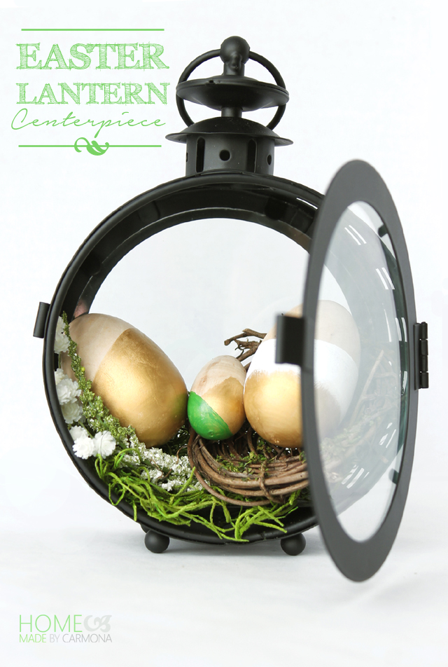 Easter Lantern Centerpiece
