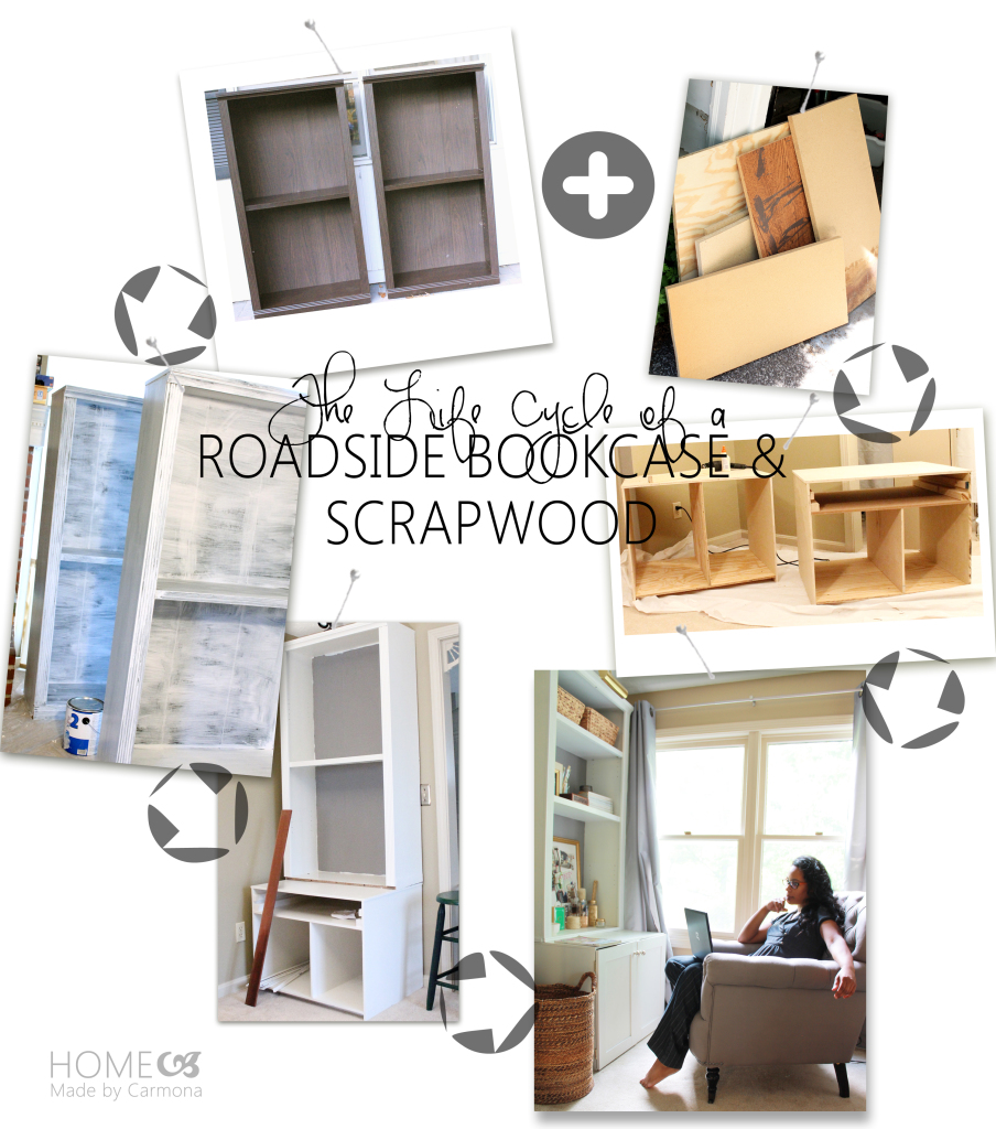 The Life Cycle of a Roadside Bookcase from Scrapwood