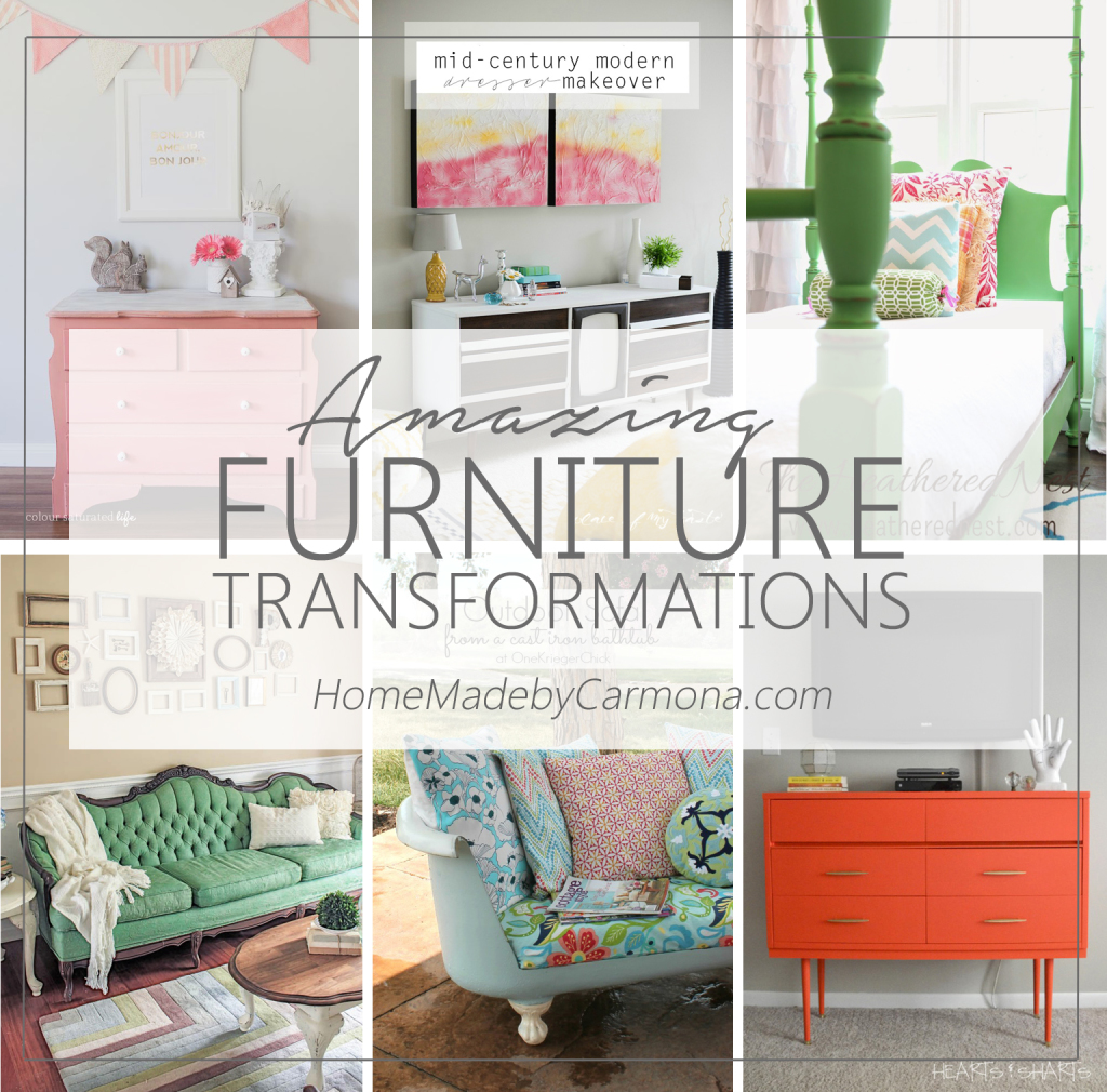 Amazing Furniture Transformations - Home Made by Carmona