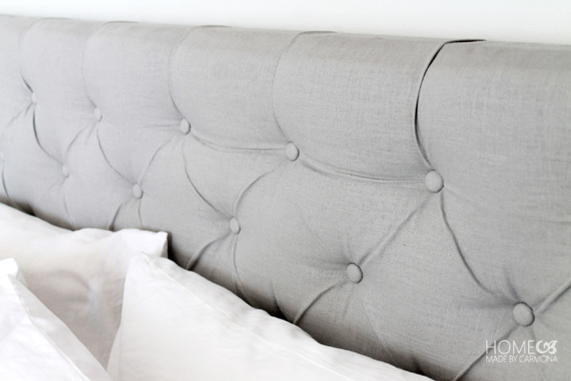 Diamond Tufted Headboard