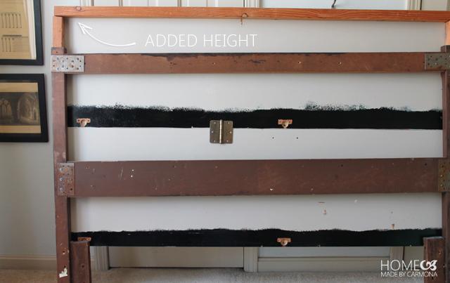 Headboard frame