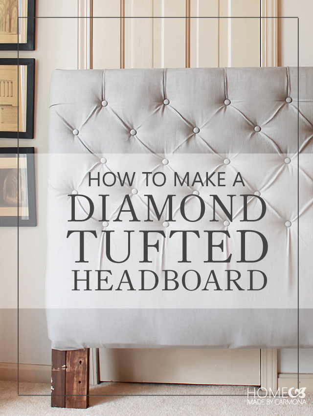 Incredible How To Make A Diamond Tufted Headboard Machost Co Dining Chair Design Ideas Machostcouk