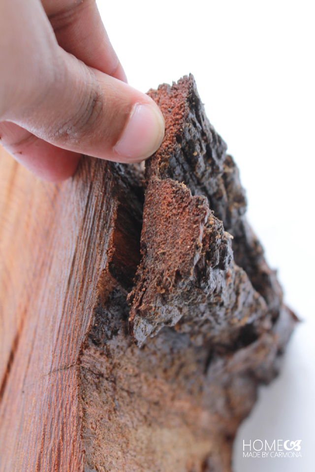 Mail Organizer - peel off bark