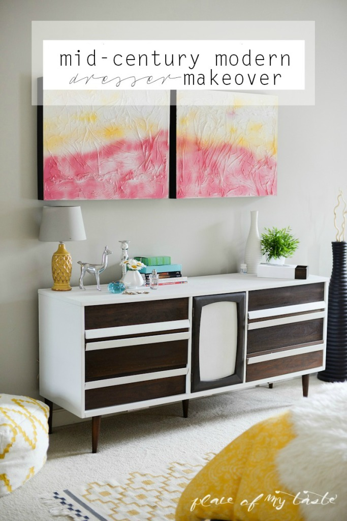 MidCentury-modern-dresser-makeover-www.placeofmytaste