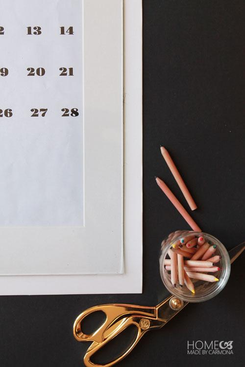 Modern-Monthly-Calendar-DIY