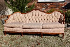 Shades of Blues Interiors - sofa before