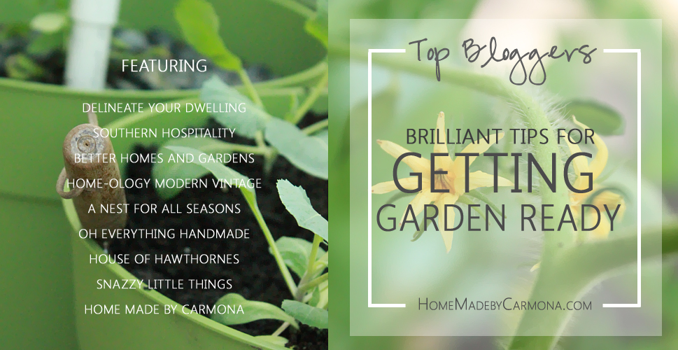 Brilliant Tips For Getting Garden Ready