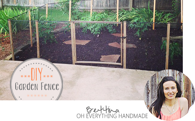Oh Everything Handmade - Garden Fence