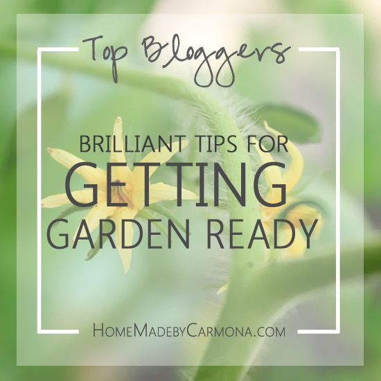 Top Bloggers On Getting Garden Ready