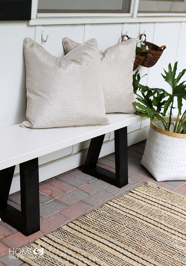 Groovy West Elm Bench Knock Off Home Made By Carmona Cjindustries Chair Design For Home Cjindustriesco