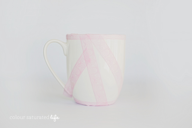 Home Made by Carmona | DIY Painted Mugs