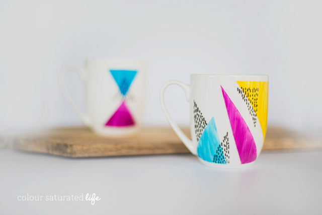 Home Made by Carmona | How to create one of a kind mugs