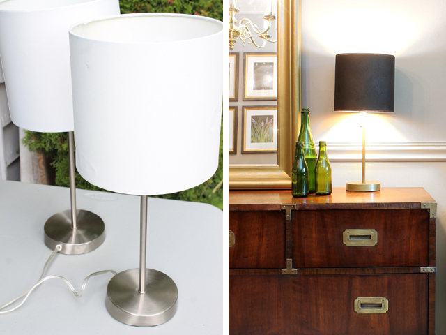 Dining Room Lamp Makeover