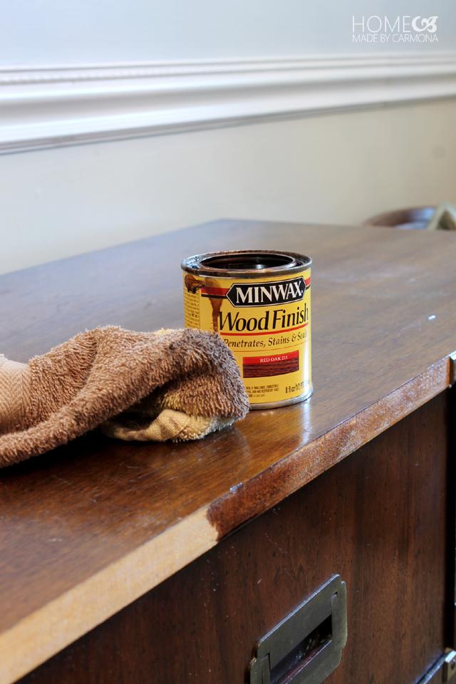 Minwax-stain-for-dresser