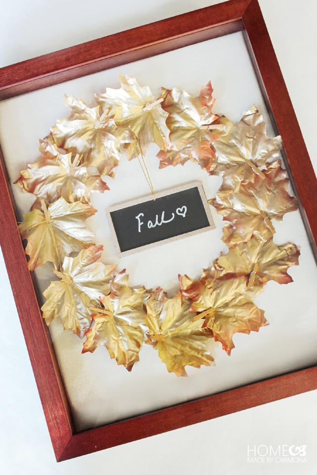 Leaf-wreath-art