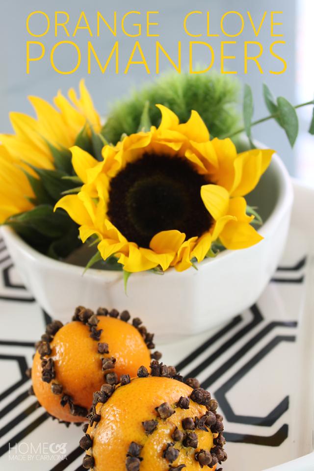 Orange Clove Pomander 3