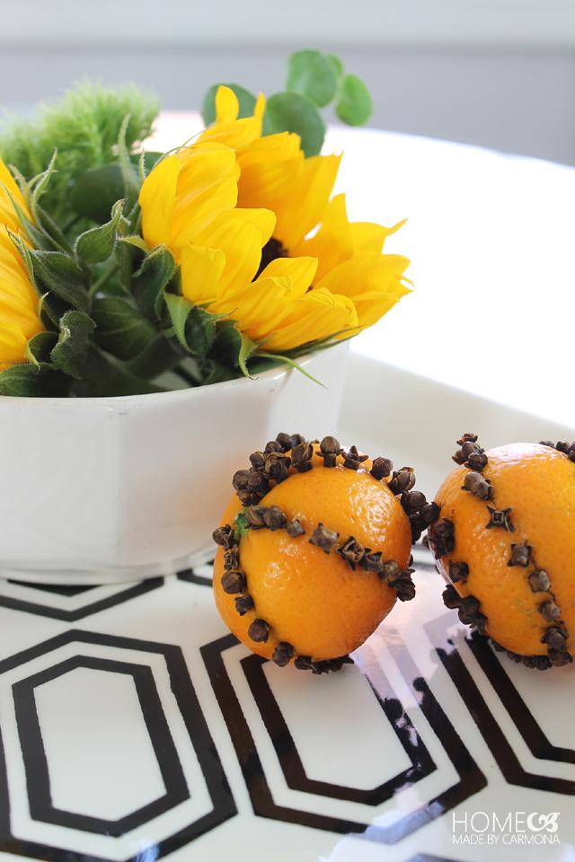 Orange Clove Pomander